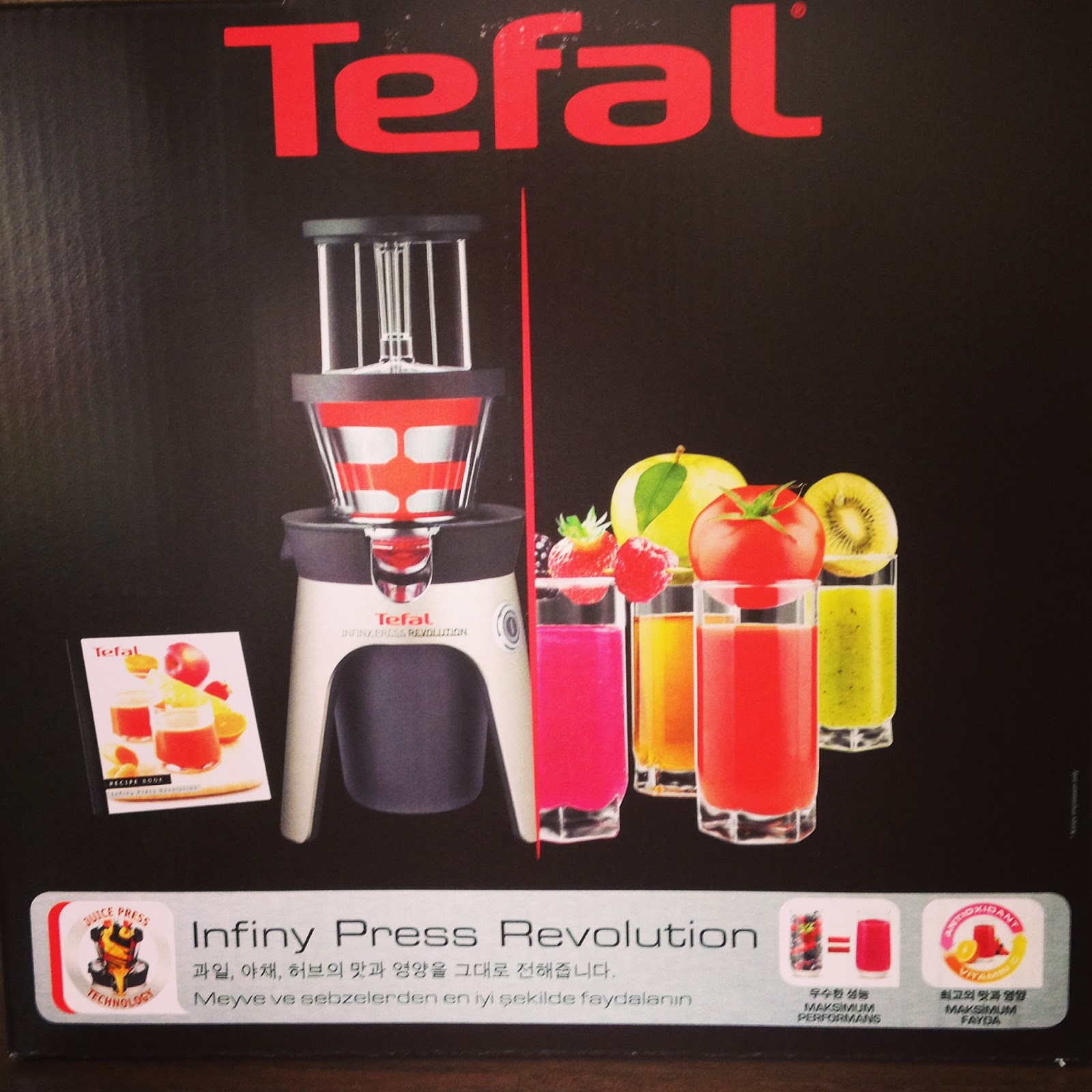 Review & Giveaway: Tefal Infiny Juicer - Hollybobb s