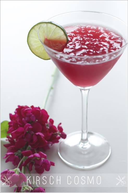 Drink kirsch cosmo for Cocktail kirsch