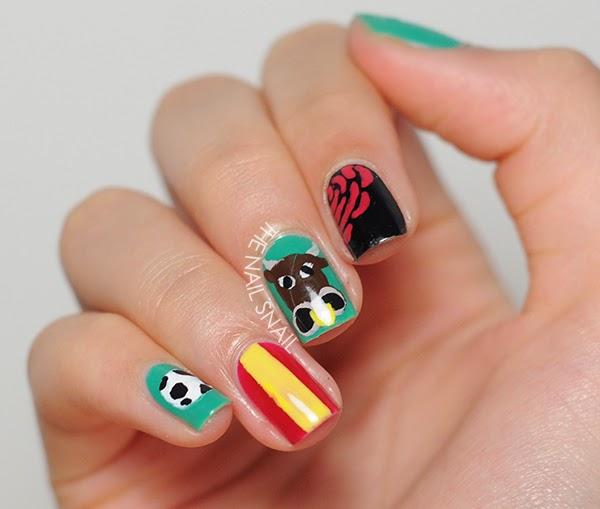 The Nail Snail World Cup Nails