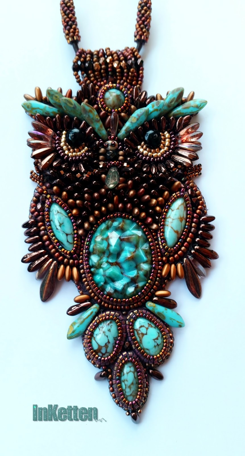 Image gallery owl bead embroidery