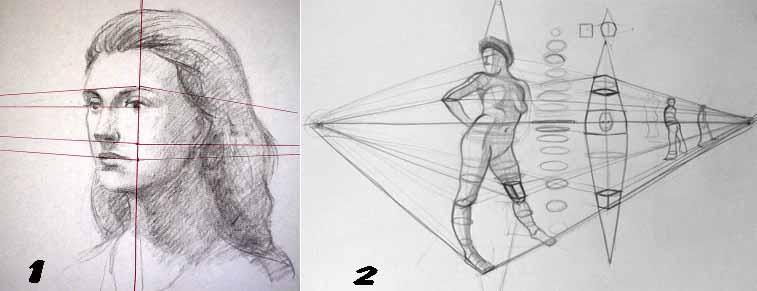 Corso di grafica e disegno per imparare a disegnare for Disegni di case in prospettiva