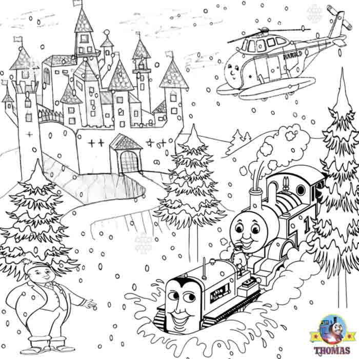 Halloween Coloring Pages Christmas Castle Disney Coloring Books For