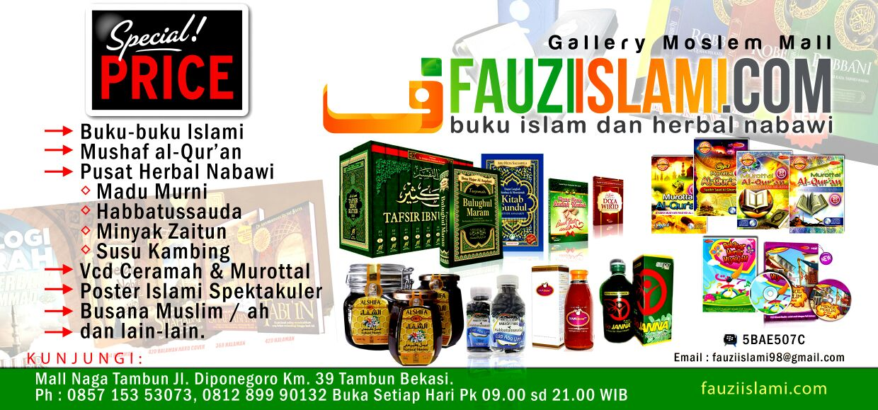 BURSA BUKU ISLAM & HERBAL