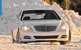 Mercedes s350 front view - صور مرسيدس s350 من الخارج