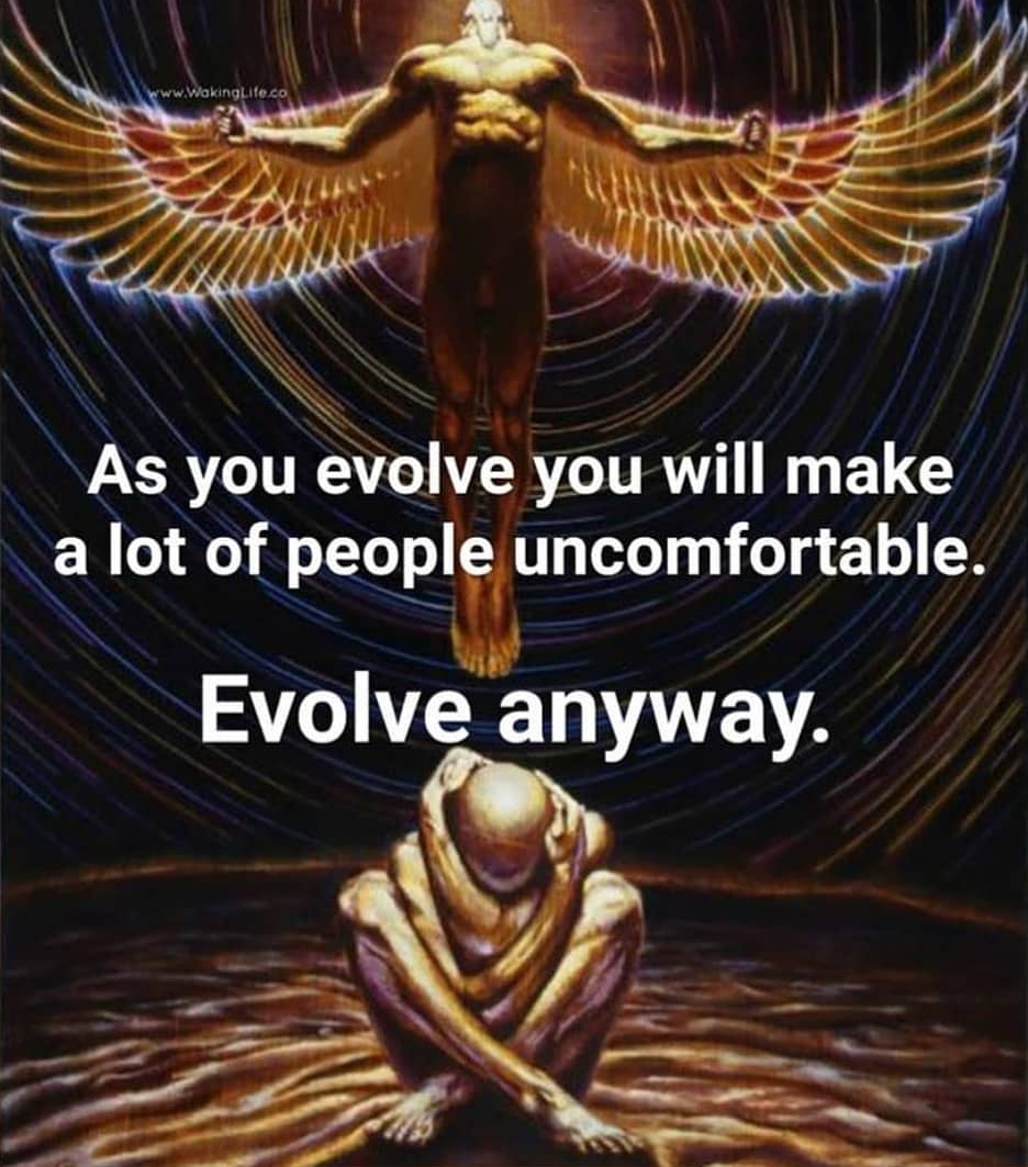 Evolve anyway