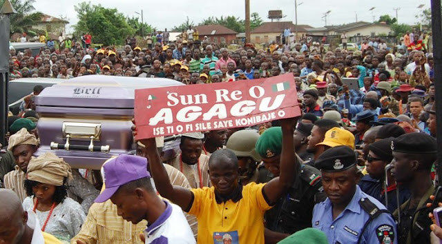 olusegun agagu buried