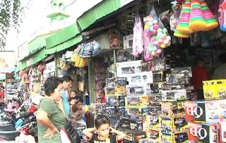 Pasar Gembrong, pusat mainan murah