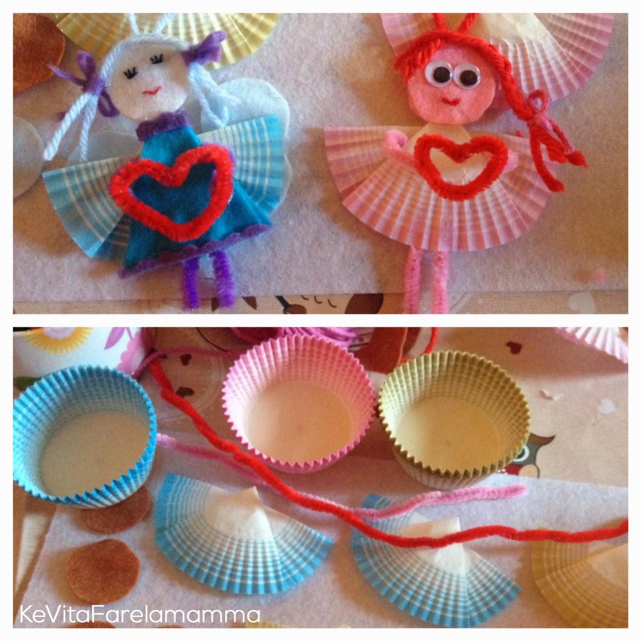 Idee regalo fai da te angeli e presepe di feltro for Idee per regali di compleanno
