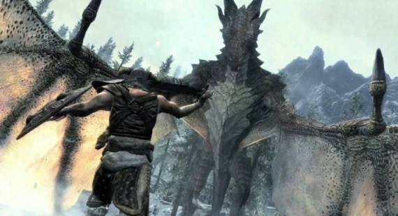 Skyrim Cheat that Spawns 50 Dragons [Video]
