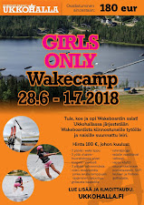 28.6.-1.7. Girls Only Wakecamp