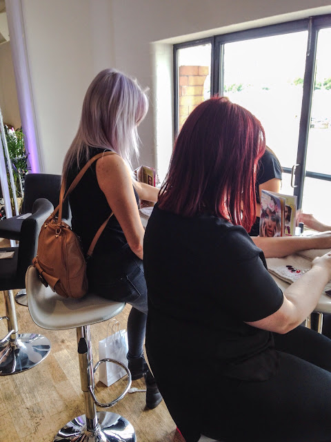 Nails, polish, Nail polish, Barry M, Red, Beauty, Pamper, Glossy, Bloggers, BLFW, Fashion Week, Bloggers Fashion Week, London, OXO tower, south bank,