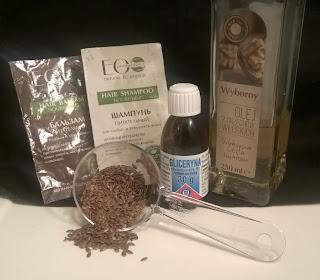 pielęgnacja, Ecolab, olej z orzechów włoskich, gliceryna, sinie lniane