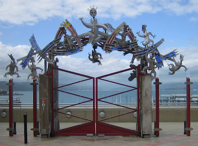 Portti vapauteen? (kuva tammikuulta 2006)