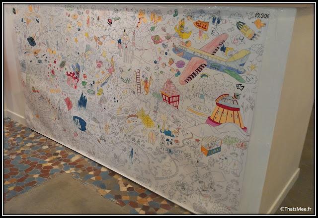 Heven mur dessins enfants, boulogne 92 concept store