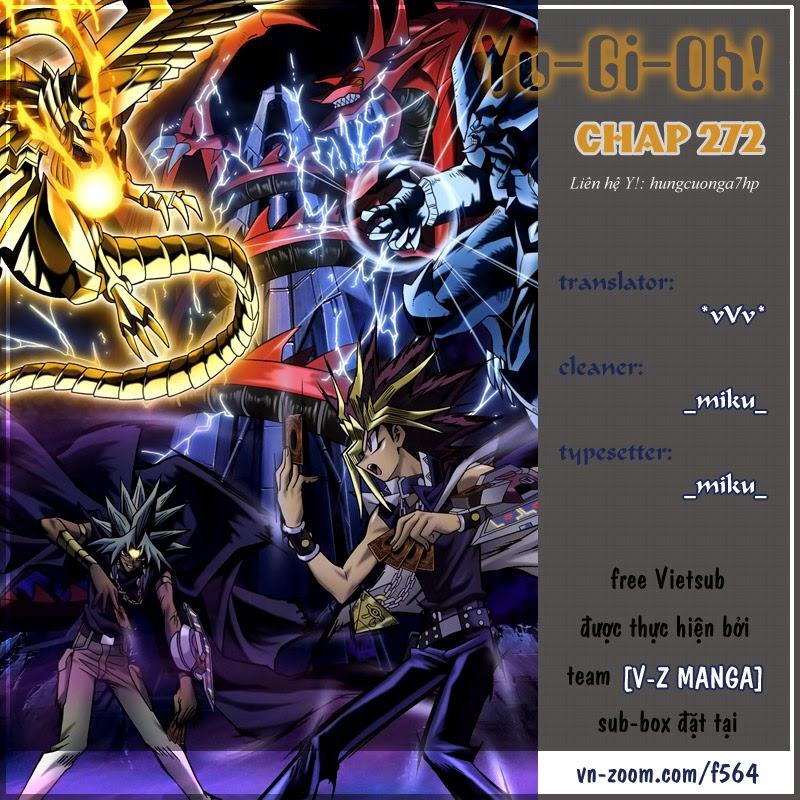YuGi Oh – Vua Trò Chơi chap 272 Trang 1
