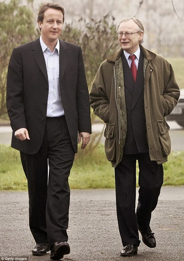 David Cameron & John Gummer aka Lord Deben.