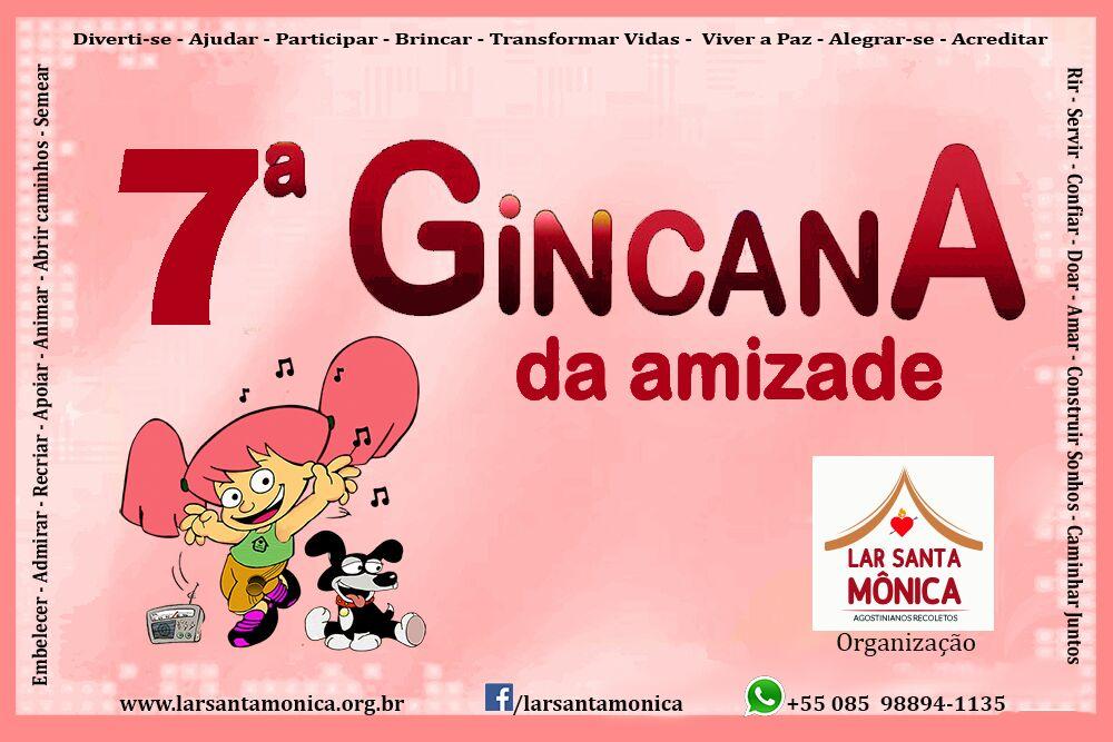 GINCANA DA AMIZADE 2017