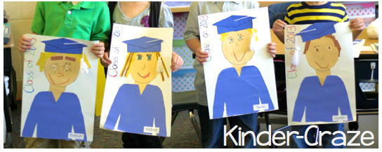 cute idea for Kindergarten Graduation!