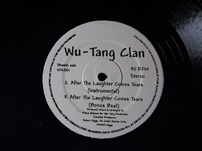 "Wu-Tang Clan ‎– After The Laughter Comes Tears (Demo, 1992, 12"")"