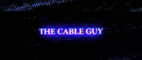 Picture is of the title image of the film The Cable Guy