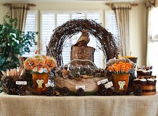 Halloween - decoração de mesa