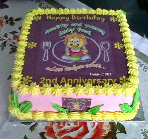 Edible Cake Dapur Ivonie Malang