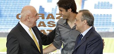 Según medios italianos, Kaká ya es jugador del Milan