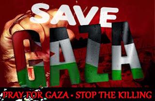 Selamatkan Muslim Gaza Dari Kekejaman Zionis Israel!