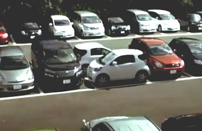 ドリフト駐車