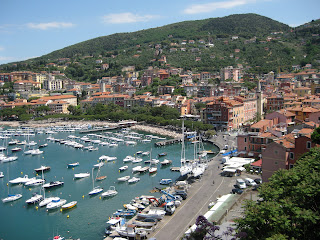 Lerici, a small port in Liguria