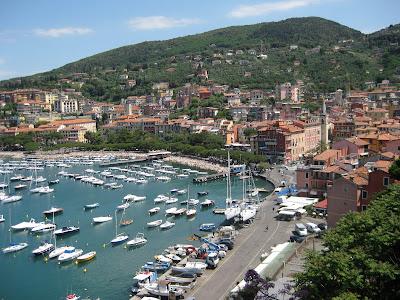 Lerici, a small port in Liguria