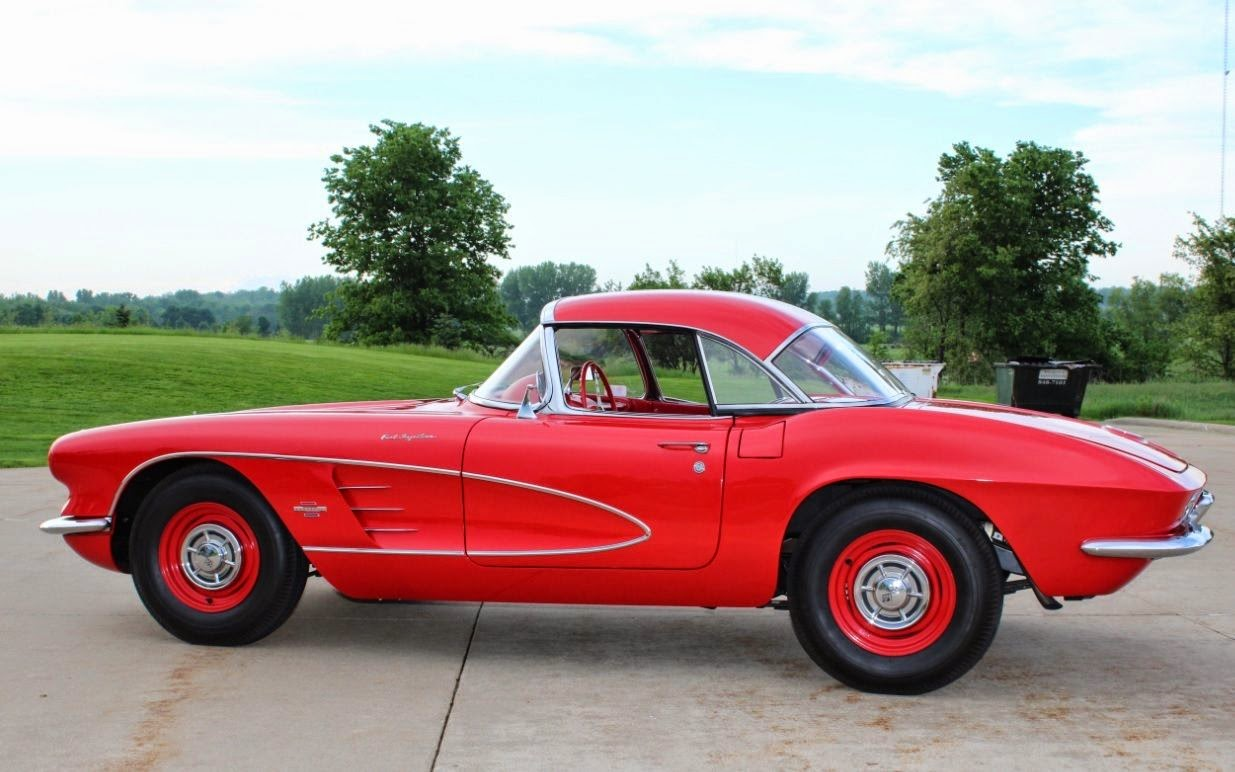 All american classic cars 1961 chevrolet corvette 2 door for Classic american convertibles