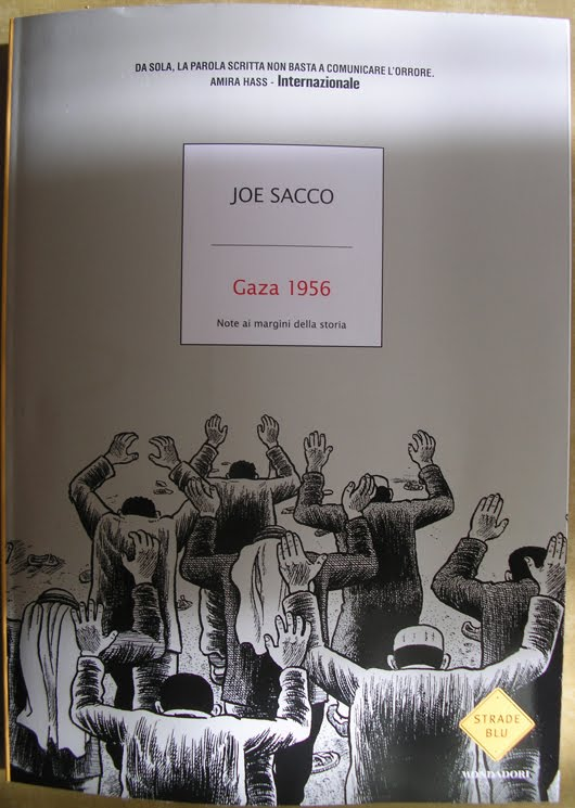 Gaza 1956 di Joe Sacco