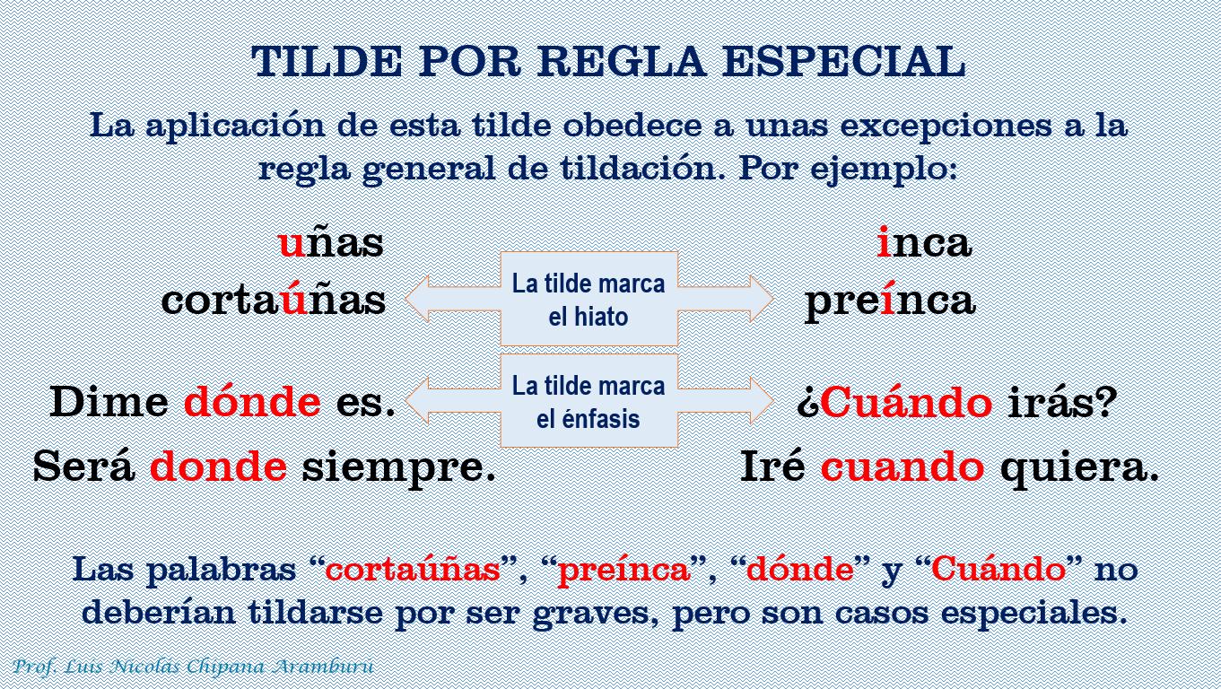 SERVICIO EDUCATIVO EN LENGUAJE Y LITERATURA: REGLA ESPECIAL DE ...