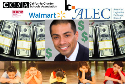 CCSA's Ref Rodriguez campaign now linked to ALEC, Kochs, SFER and DFER