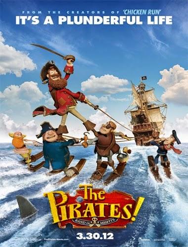 Ver ¡Piratas! Una loca aventura (2012) Online