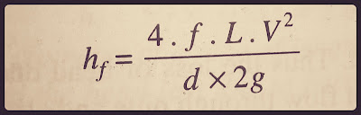 Darcy - weisbach formula
