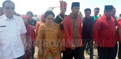 Megawati Kunker ke Jambi, Ini Agenda Kegiatannya