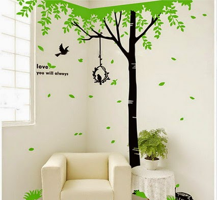 Simple Wall Designs with Paint for Kids 2014 Fashionate