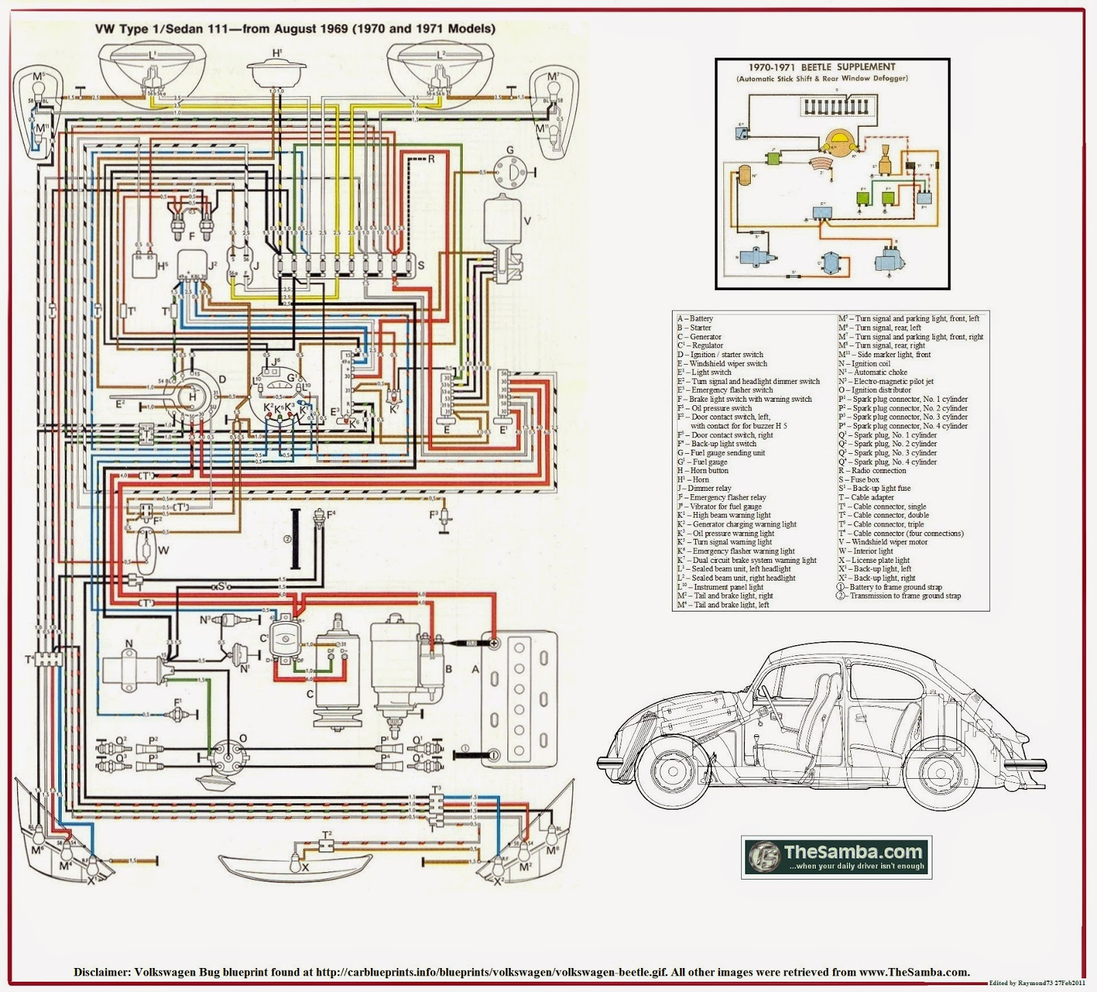 1973 Vw Super Beetle Engine Wiring Diagram - ~ Wiring Diagram Portal ~ •getcircuitdiagram.today