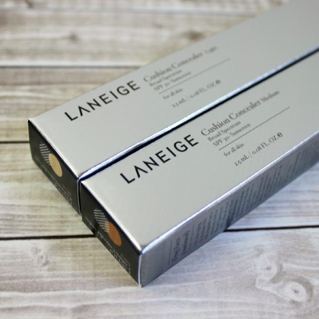Laneige Cushion Concealer BB Target box broad spectrum SPF sunscreen