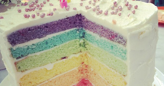 Greens Rainbow Cake Mix Recipe