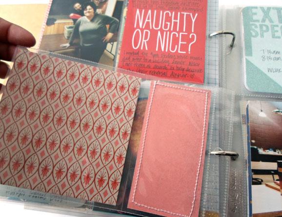 December Daily Sequin Pocket