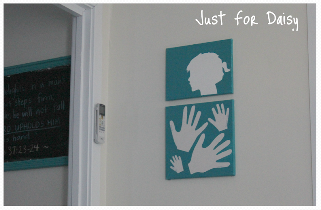 Silhouette Canvas Craft - Just For Daisy