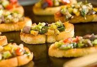 Bruschetta de Ratatouille (vegana)