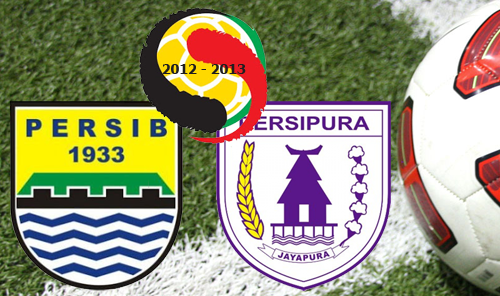 -Up) Persib vs Persipura Liga Indonesia ISL (Minggu, 13 Januari 2013