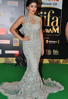 Shriya Saran Stills in Designer Dress at IIFA Utsavam Awards 2016 Day 2 ~ Celebs Next