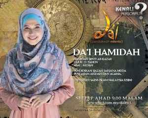 Kenali Da'i Hamidah - Biodata penuh Johan program da'i musim 3
