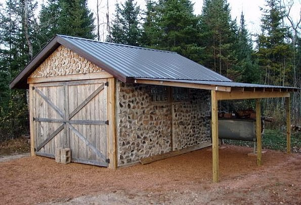 Off grid concepts cordwood homes and cabins for Cordwood building plans