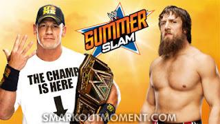 SummerSlam 2013 PPV Daniel Bryan wins WWE Championship from John Cena